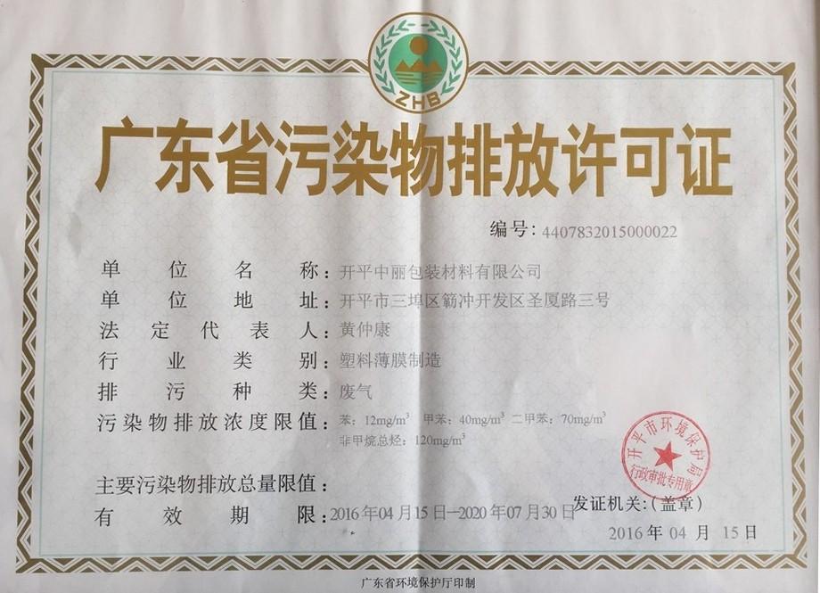 Environmental Impact Assessment Certificate